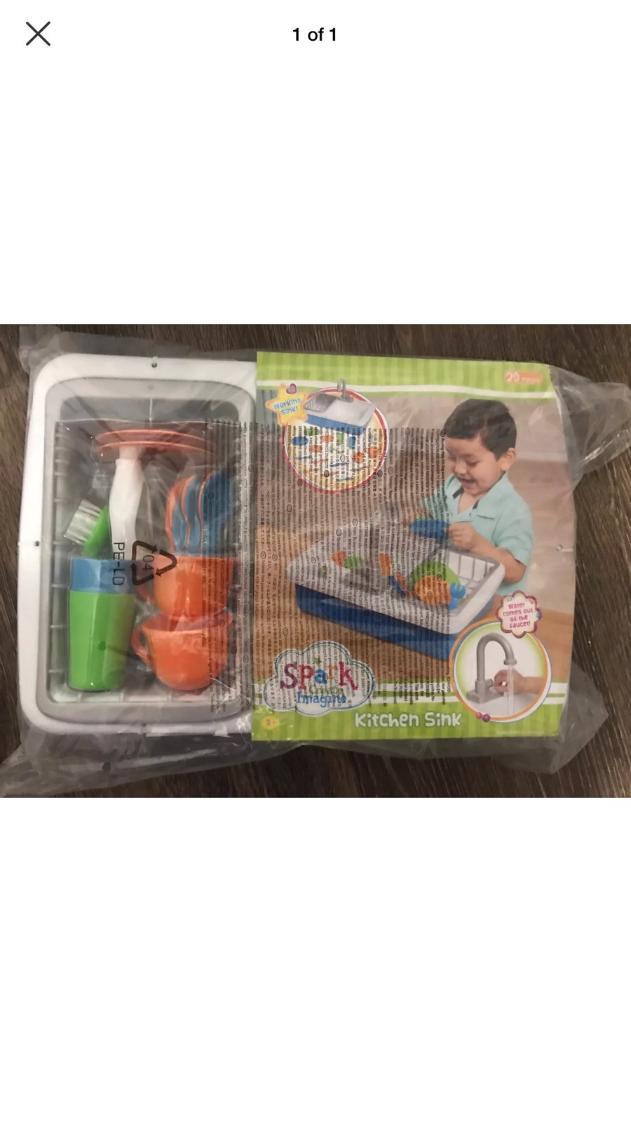 Spark Toy Kitchen Sink Brand New - Mercari: BUY & SELL THINGS YOU LOVE