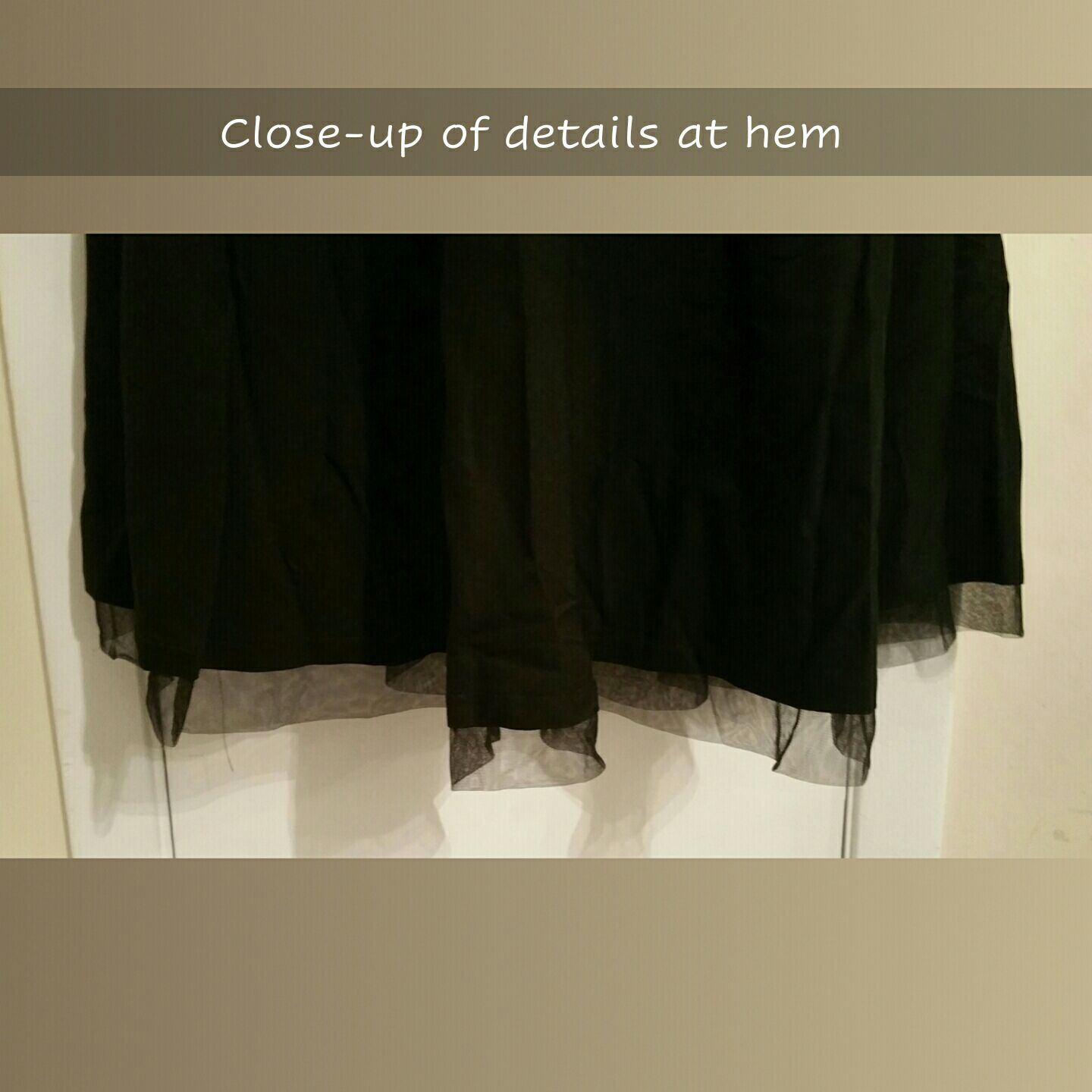 NWT Black Dress, Extra-Large XL