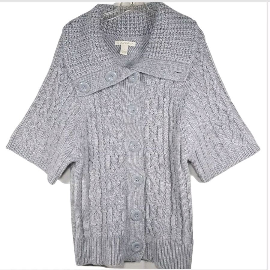 A. Giannetti S Chunky Cardigan Sweater - Mercari: BUY & SELL ...