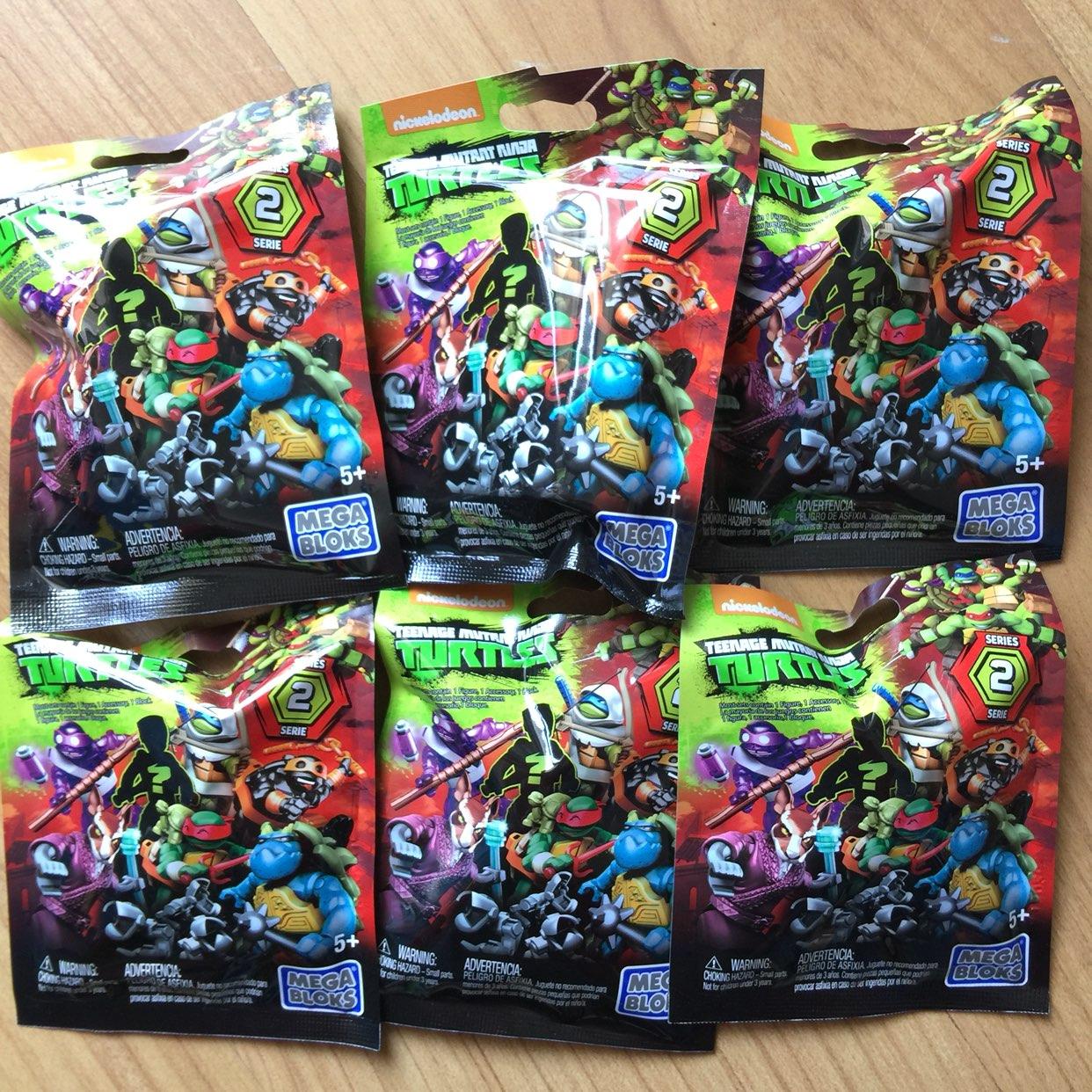 Ninja Turtles Blind Bag Mega Bloks
