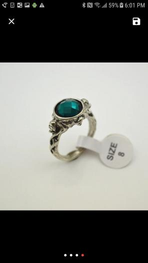 Used, Sparrow ring in size 8 for sale