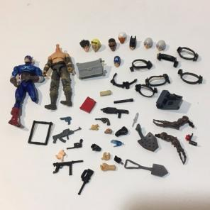 """Used, 3"""" Scale Figure Weapon Lot Toy Gijoe G I for sale"""