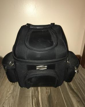 Kuryakyn Sissy Bar Bag For Motorcycle, used for sale