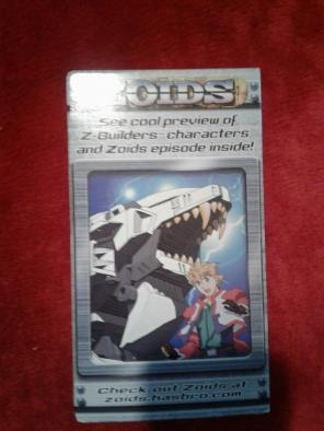 2002 hasbro zoids vhs for sale