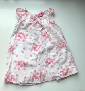 Used, Jacadi Pink Toddler Dress - 12 Months for sale