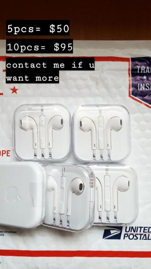5× Apple iPhone Authentic Earphone 3.5MM, used for sale