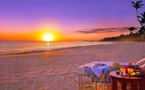 Used, Beach Sunset HD Poster Decor for sale