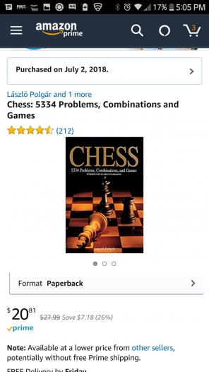 Chess Book for sale