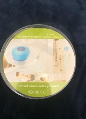 New Waterproof Bluetooth Shower Speaker! for sale