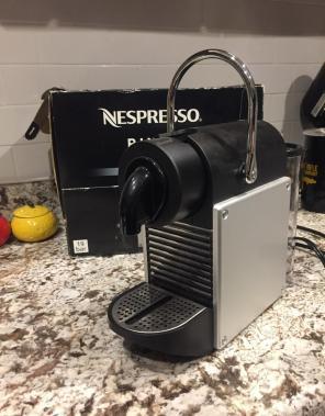 Nespresso pixie Espresso Maker for sale