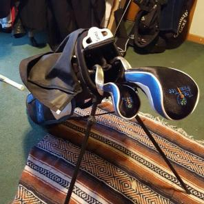 Youth golf clubs, used for sale