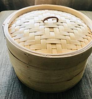 Bamboo Steamer Cooker Steam 3 Piece NEW! for sale