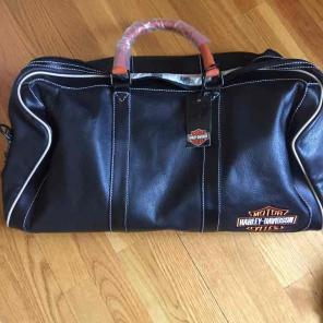 Harley Davidson Leather duffle for sale