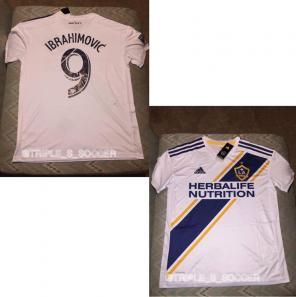 LA Galaxy Zlatan Ibrahimovic Jersey for sale