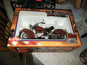 Indian vintage collectible motorcycle, used for sale