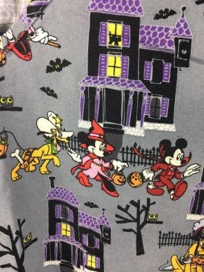 disney xs disney halloween scrubs top mickey