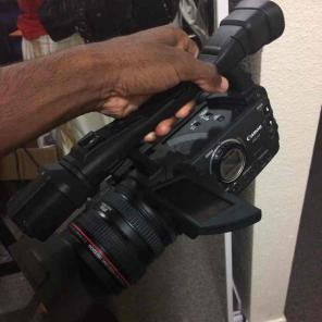 Used, Professional Camera Canon XHA1 for sale