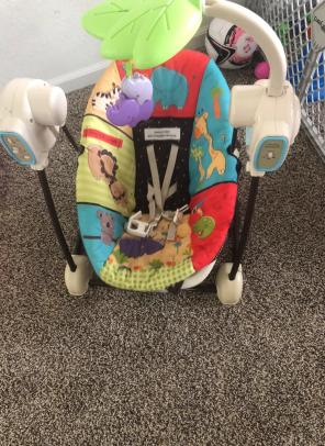 baby swings and bouncers, used for sale