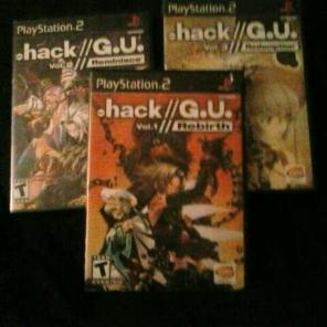 .Hack GU trilogy games for sale