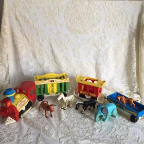 Vintage Fisher Price Circus Train for sale
