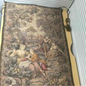 Vintage Belgium tapestry for sale