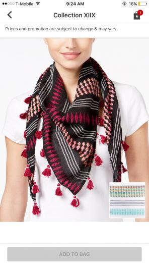 Collection XIIX Ombré Snake Wrap - Mercari: BUY & SELL THINGS YOU LOVE