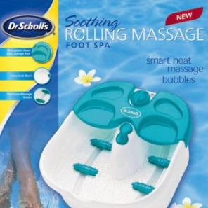 Used, Dr Scholl's Foot Soak Spa Bubble Massage for sale