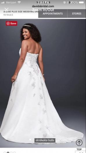 Davids Bridal Plus Size Dresses Mercari