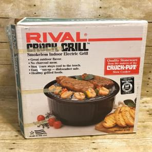 Rival Crock Grill 5750 Black Electric for sale