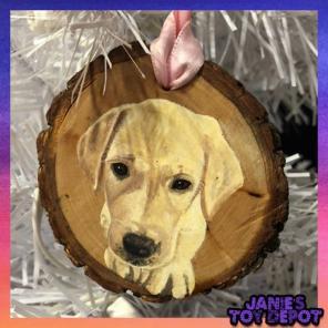 Labrador Retriever Hand Painted Ornament for sale
