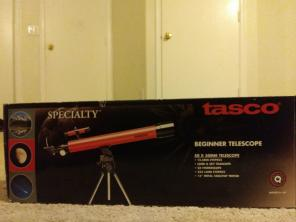 Tasco beginner telescope for sale