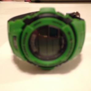 Vintage G-Shock Leather Band Watch for sale