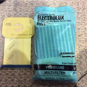 ELECTROLUX Style C Vacuum Cleaner Bags, used for sale