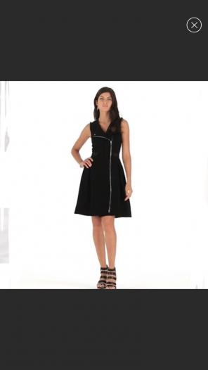 Whbm Full Zip Dress