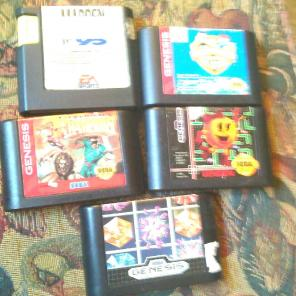 5 Sega Genesis Game Bundle! for sale