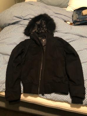 Canada Goose - Canada Goose Black Parka Jacket