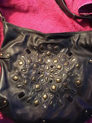 Leather Hobo Bag W Bling By Sigrid Olsen a0d6d9c8e9