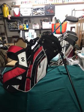 US Golf Kids Golf Club Set Ages 5-8 Nice for sale