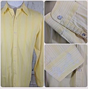 Original Penguin Front Button Shirts for Men  b3c0af040379