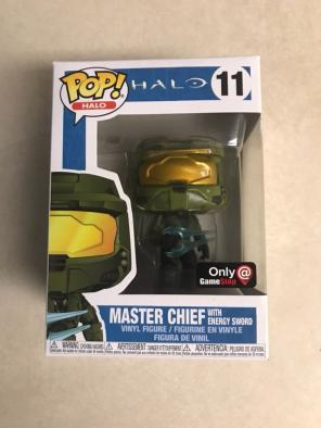 Halo Master Chief W/ Sword Funko Pop for sale