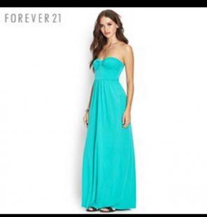 Forever 21 Strapless Maxi Dresses Mercari