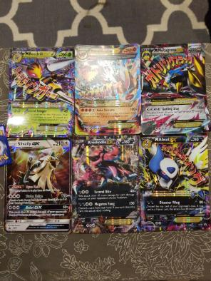 6 Jumbo Pokemon Cards for sale