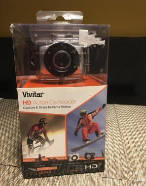 Used, Vivitar Dvr 781hd Action Camcorder for sale