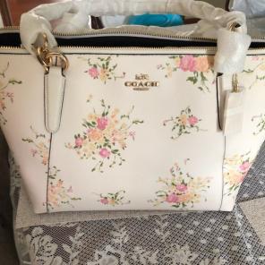 Coach floral handbags mercari new ava floral coach tote handbag purse mightylinksfo