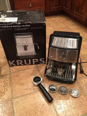 KRUPS XP4030 Espresso Latte Machine, used for sale