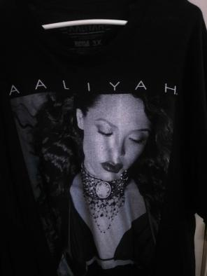 Used, Aaliyah T-shirt for sale