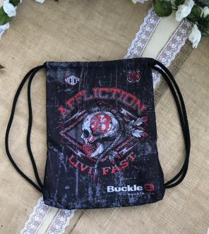 Affliction Drawstring Backpack