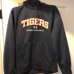 Under armour ncaa fan shop mercari under armour auburn tigers stitched hoodie fandeluxe Image collections