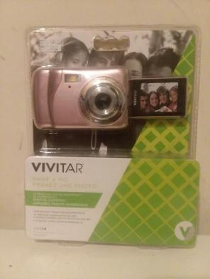 Used, Vivitar ViviCam VXX14 Selfie Camera Rose for sale