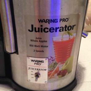 Waring Pro Juicer for sale